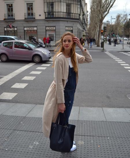 Denim tenis dunlop - Ecoblogger Cristina Carrillo 1