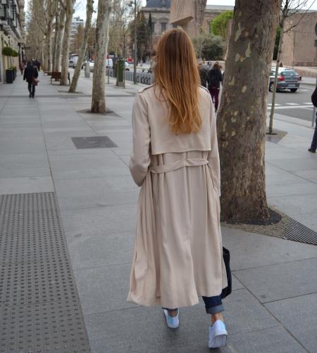 Denim tenis dunlop - Ecoblogger Cristina Carrillo 3