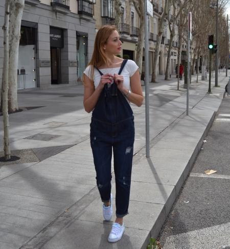 Denim tenis dunlop - Ecoblogger Cristina Carrillo 4