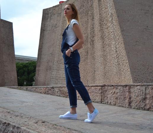 Denim tenis dunlop - Ecoblogger Cristina Carrillo 6